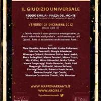 """NARRATORI AMPLIFICATI: """"IL GIUDIZIO UNIVERSALE"""""""