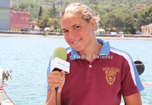 Martina Grimaldi su Rai Sport 1