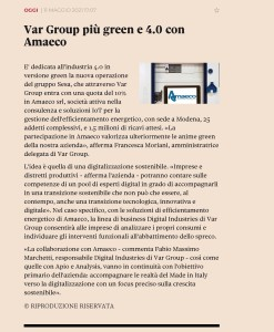 20210511_TOSCANA24.ILSOLE24ORE.COM_Var Group più green e 4.0 con Amaeco - Copia